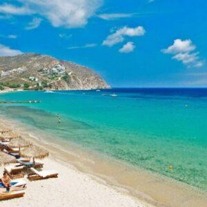 Mykonos elia beach spiaggia mare